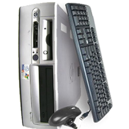 Oferta calculatorPC HP Compaq D530 EVO USFF, Intel Pentium 4 3.0GHz, 1GB DDR, 80GB HDD,DVD-ROM ***