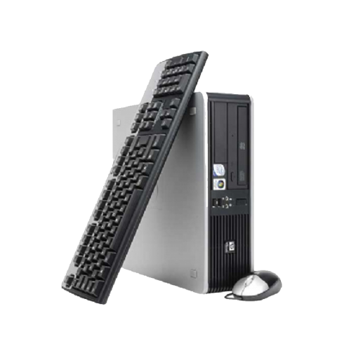 Calculator SH HP DC5800 Desktop, Intel Core 2 Duo  E6550, 2.33Ghz, 2Gb DDR2, 160Gb HDD, DVD-RW