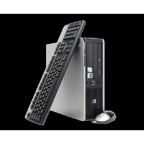 PC HP DC5850 Desktop AMD ATHLON DC5200B, 2.7GHZ, 2GB DDR3, 160GB HDD, DVD-RW, DESKTOP