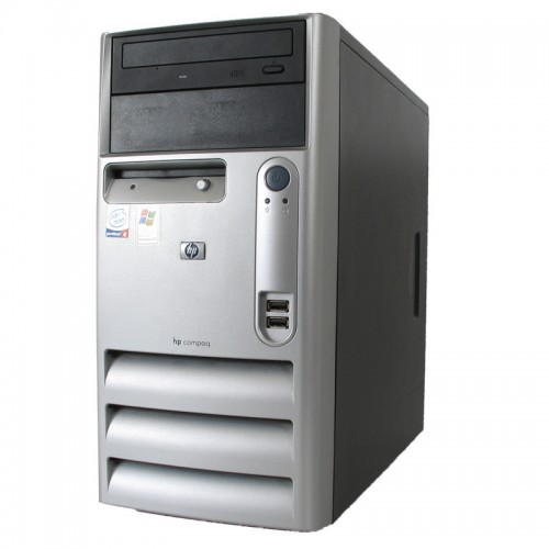 PC HP DC5100MT, Intel Pentium 4 , 2,8GHz , 1Gb DDR2 , 80Gb HDD, DVD-ROM