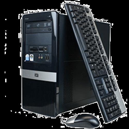 Calculatoare Sh HP DX2400, Intel Celeron 2.2Ghz, 2Gb DDR2, 160Gb, DVD-RW