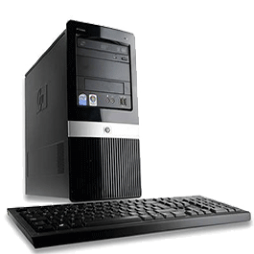 Hp Compaq DX2420 Microtower, Intel Pentium Dual Core E5300, 2.6Ghz, 2Gb DDR2, 160Gb HDD, DVD-RW