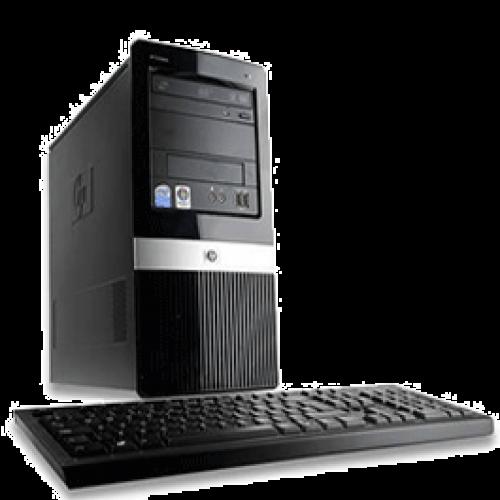 Hp Compaq DX2420 Microtower, Intel Pentium Dual Core E5300, 2.6Ghz, 2Gb DDR2, 160Gb HDD, DVD-RW