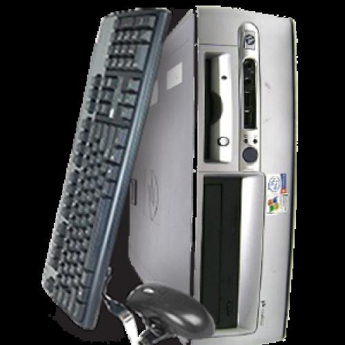 HP DC7700 SFF, Intel Core 2 Duo E6400, 2.13Ghz, 1Gb DDR2, 160Gb SATA, DVD-RW