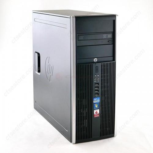 Calculator Refurbished HP 8200 Elite MiniTower, Intel Core i3-2100 3.1 GHz, 4GB DDR3, 80GB SSD, DVD-ROM + Windows 10 PRO