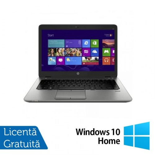 Laptop HP Elitebook 820 G2, Intel Core i5-5200U 2.20GHz, 16GB DDR3, 120GB SSD, 12 Inch + Windows 10 Home, Refurbished