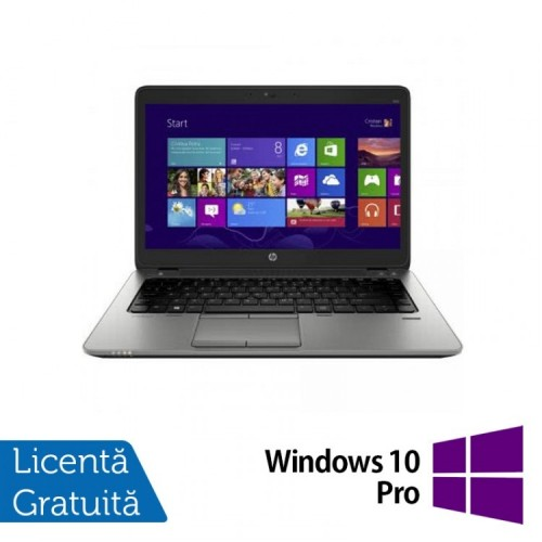 Laptop HP Elitebook 820 G2, Intel Core i5-5200U 2.20GHz, 16GB DDR3, 120GB SSD, 12 Inch + Windows 10 Pro, Refurbished