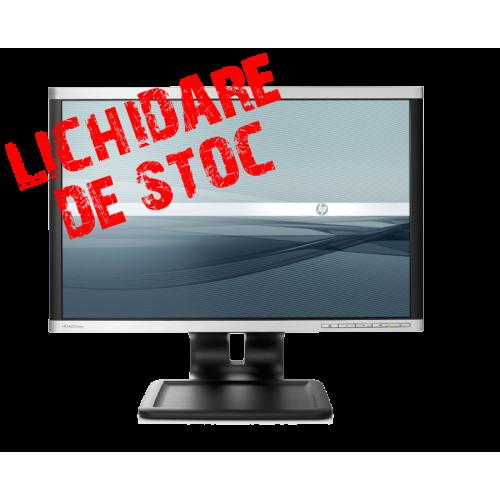 Super Oferta Monitor LCD HP LA2205WG de 22 inch, anti-glare, anti-static cu timp de rapsundere 5 ms