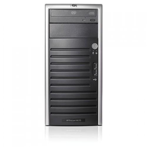 HP ProLiant ML110 G5 Tower, Intel Core2 Duo E7400 2.8Ghz, 4Gb DDR2 ECC, 250Gb SATA, DVD-ROM