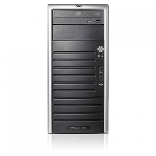 HP ProLiant ML110 G5 Tower, Intel Core2 Duo E7400 2.8Ghz, 4Gb DDR2 ECC, 2x 250Gb + 2x 500Gb SATA, DVD-ROM