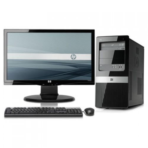 Calculator HP 3120MT Tower, Intel Core 2 Duo E7500  2,93Ghz , 2Gb DDR3, 160Gb HDD , DVD-RW cu Monitor LCD