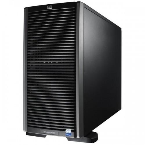 HP Server ProLiant ML350 G6, 2x Intel Xeon Quad Core E5506 2.13, 4Gb DDR3 ECC, 2x 300Gb SAS, DVD-RW, 2x 460w, Raid P410