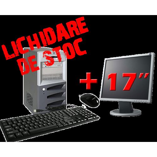 Pachet Calculator SH HP TC2100, Celeron, 950 Mhz, 256 MB, 40GB HDD, CD-ROM cu Monitor 17 inch ***
