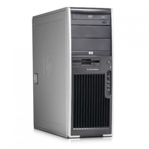 PC Hp xw4600, Core 2 Duo E8500, 3.17Ghz, 2Gb RAM, 160Gb, DVD-RW, GeForce 9300
