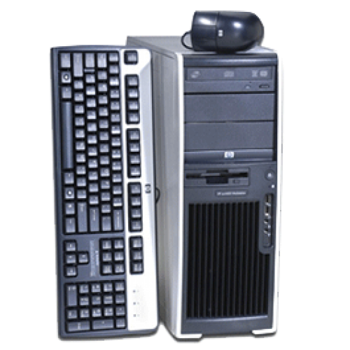 PC Sh HP XW4400, Intel Core 2 Duo E6600, 2.40Ghz, 2Gb RAM, 160 Gb HDD, DVD-RW