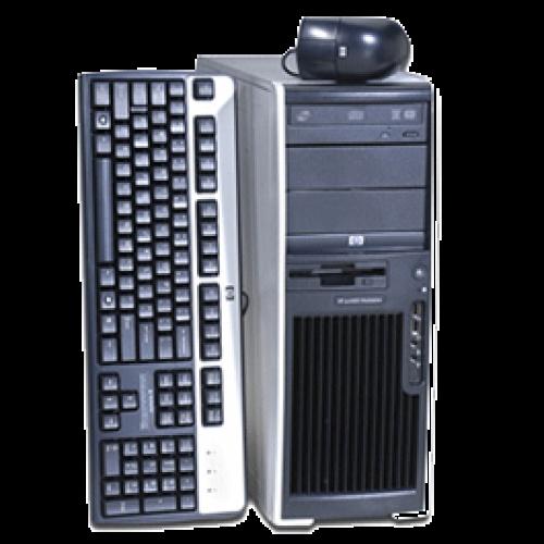 Calculatoare SH, HP XW4400 Workstation, Core 2 Duo E6600, 2.4Ghz, 2Gb, 250Gb, DVD-RW, NVIDIA QUADRO FX560 128MB