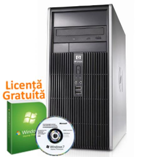 Calculator Ieftin HP DC5700 Tower, Intel Pentium Dual Core E2160, 1.8Ghz, 2Gb, 160Gb HDD, DVD-RW + Win 7 Premium