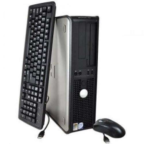 Unitate PC Dell Optiplex 745 Desktop, Intel Core 2 Duo E6300 1.86Ghz, 2Gb DDR2, 160Gb, DVD-ROM