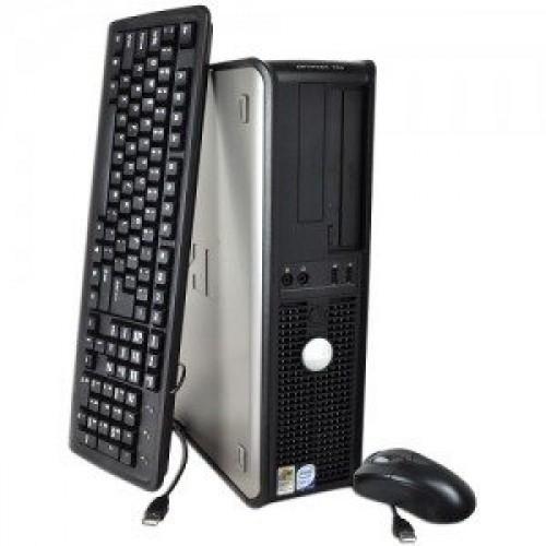 Unitate PC Dell Optiplex 745 Desktop, Intel Core 2 Duo E6300 1.86Ghz, 4Gb DDR2, 160Gb, DVD-ROM
