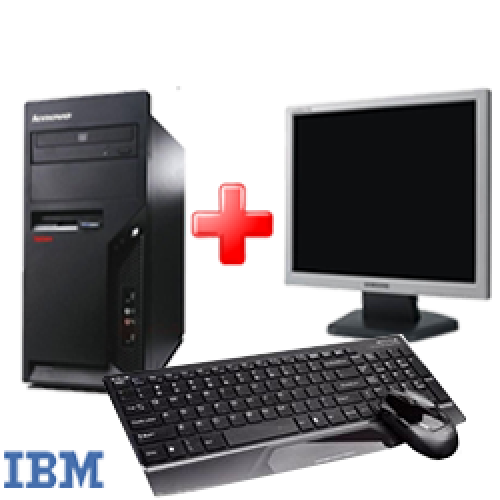 Calculatoare IBM Thinkcentre M52 , Pentium 4 3,0 Ghz , 1Gb DDR1, 80Gb HDD, DVD-ROM cu Monitor LCD ***