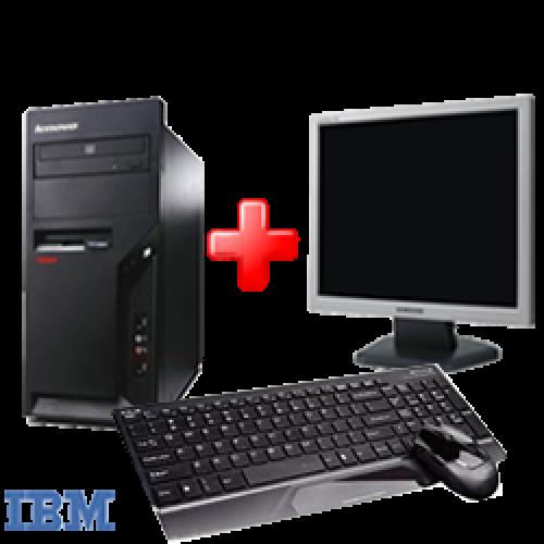 Calculatoare IBM Thinkcentre M52 , Pentium 4 3,0 Ghz , 1Gb DDR1, 80Gb HDD, DVD-ROM cu Monitor LCD ***