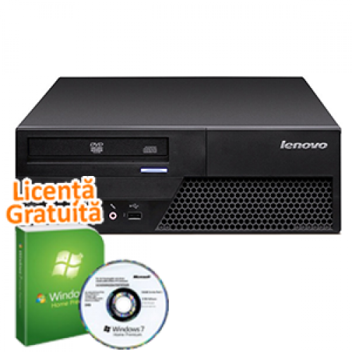 PC Second Hand IBM M58, Intel Core 2 Duo E7300, 2.66Ghz, 2Gb DDR2, 160Gb SATA, DVD-RW + Windows 7 Premium