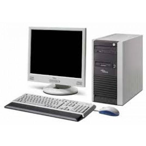 Pachet calculator  Fujitsu Siemens Scenic P300 Pentium 4 2.8 Ghz, 80Gb,  2Gb DDR, DVD-ROM cu Monitor LCD ***