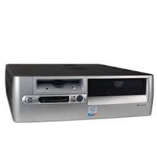 Calculator second hand HP Compaq D530 SFF, Intel Celeron 2.6GHz, 512Mb DDR, 40GB HDD, DVD-ROM