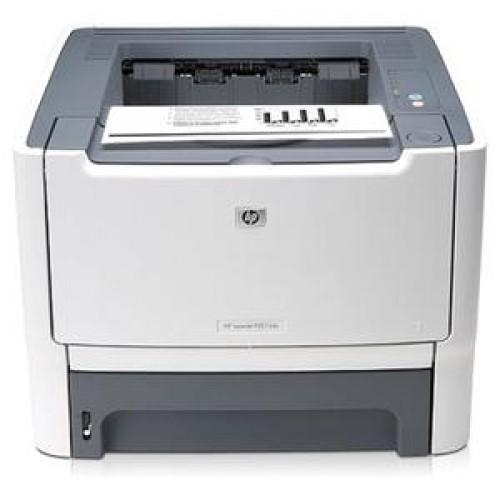 HP LaserJet P2015DN, 1200 x 1200 dpi, 27 ppm, USB 2.0, Duplex, Retea, Cartus nou compatibil 3k