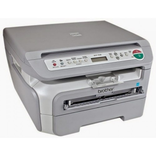 Multifunctionala Laser Monocrom Brother DCP-7030, A4, 22ppm, 2400 x 600, USB, Second Hand