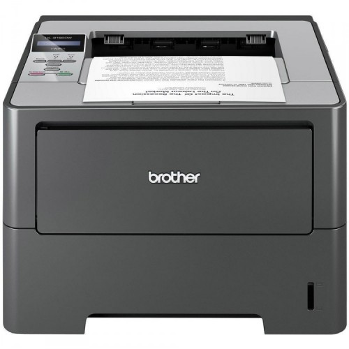 Imprimanta Laser Monocrom Brother HL-6180DW, Duplex, A4, 40ppm, 1200 x 1200, Wireless, Retea, USB, Second Hand