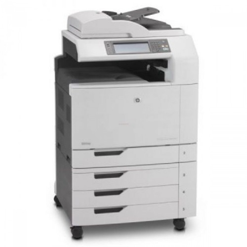 Multifunctional Laser Color A3, HP CM6040 MFP, Copiator, Scanner, Fax, ADF, Retea, Fara finisher, Second Hand