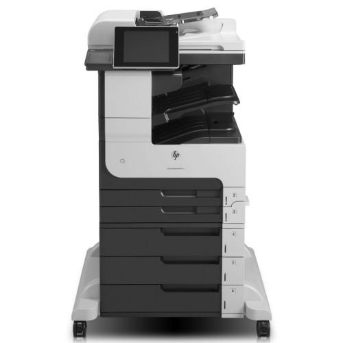 Multifunctionala Laser Monocrom HP Enterprise MFP M725, 1200x1200 dpi, 41 ppm, Cartus nou compatibil 17.5k, Second Hand