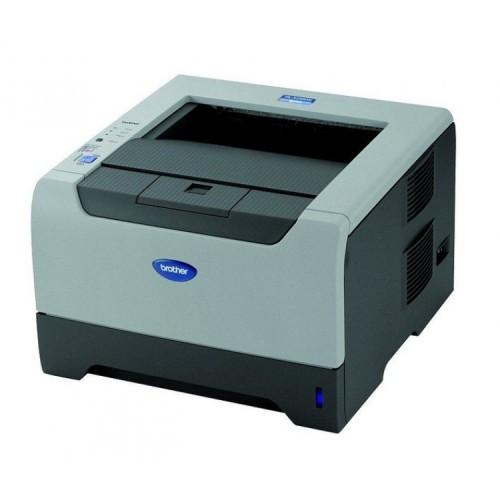 Imprimanta Laser Monocrom Brother HL-5200DN, Duplex, A4, 28 ppm, 1200 x 1200, Retea, Second Hand