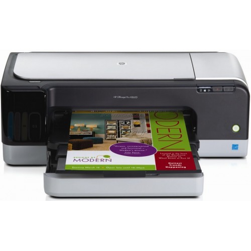 Imprimanta A3 Color Hp OfficeJet K8600, 35 ppm, Rezolutie de printare color 4800 x 1200 dpi