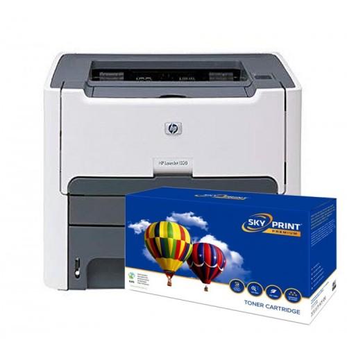 Imprimanta HP 1320 cu cartus nou Q5949x (6000pagini), Second Hand