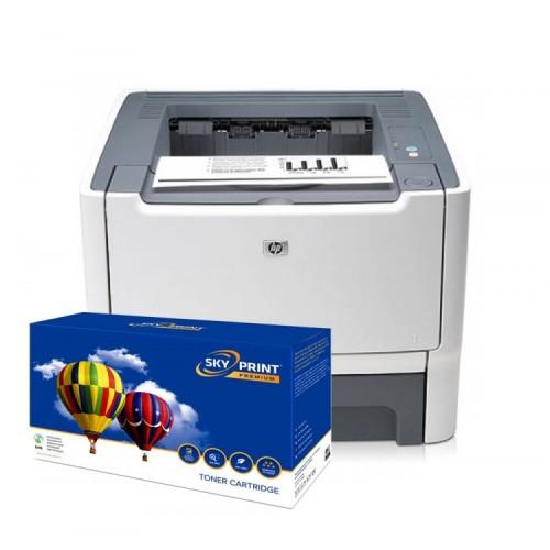 Imprimanta HP 2015D cu cartus nou Q5949x (6000pagini), Second Hand