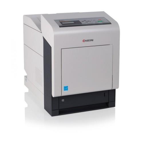 Imprimanta KYOCERA FS-C5300DN, 26 PPM, 600 x 600 DPI, USB, Retea, A4, Color, Second Hand