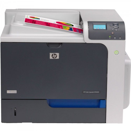 Imprimanta Laser Color Hp CP4525DN, Duplex, Retea, USB, 42 ppm, Toner Low, Second Hand