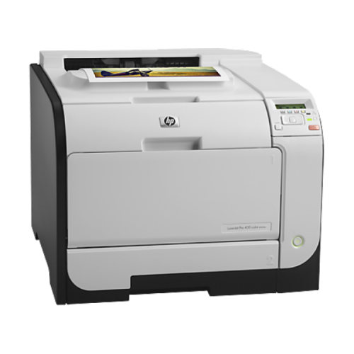 Imprimanta Laser Color HP LaserJet Pro 400 M451dn, Duplex, Retea, USB, 21ppm, Toner Low, Second Hand