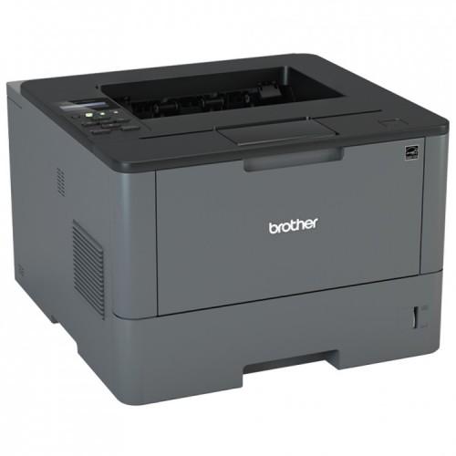 Imprimanta Laser Monocrom Brother HL-L5100DN, Duplex, A4, 40ppm, 1200 x 1200, USB, Retea, Second Hand