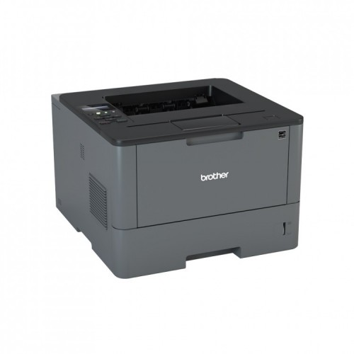Imprimanta Laser Monocrom Brother L5100N, 40PPM, Retea, USB, 1200 x 1200, A4, Second Hand