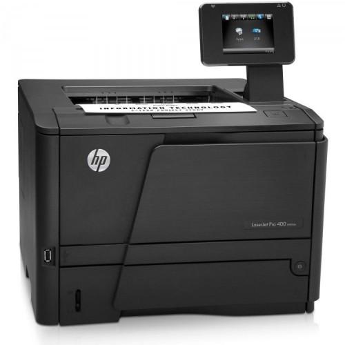Imprimanta Laser Monocrom HP 400 M401DN, Touchscreen, USB, Duplex, Retea, 1200x1200 dpi, 35 ppm, Second Hand