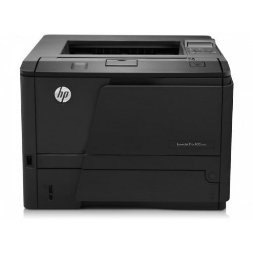 Imprimanta Laser Monocrom HP M401D, USB, 1200x1200 dpi, 35 ppm, Duplex, Cartus Nou, Second Hand