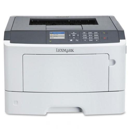 Imprimanta Laser Monocrom Lexmark MS-510DN, Duplex, Retea, 30 ppm, Second Hand