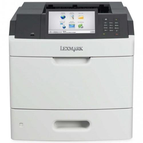 Imprimanta Laser Monocrom Lexmark MS812de, Duplex, A4, 66ppm, 1200 x 1200, USB, Retea, Second Hand
