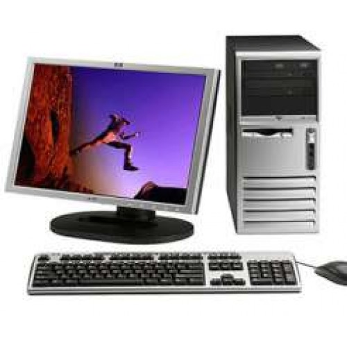PC HP DX6120, PENTIUM 4 3.0Ghz, 1.5Gb DDR, 80 GB, DVD-ROM cu Monitor LCD