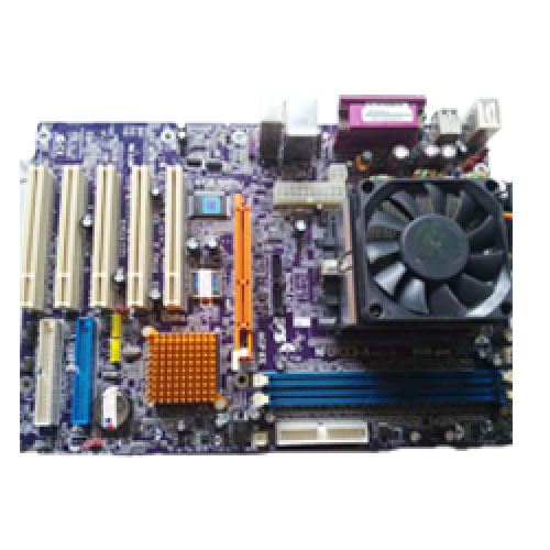 Kit Placa de Baza ECS K7VTA3/KT333 cu Procesor AMD Athlon 2200+ Cooler+ RAM 256 MB + 20GB HDD ***