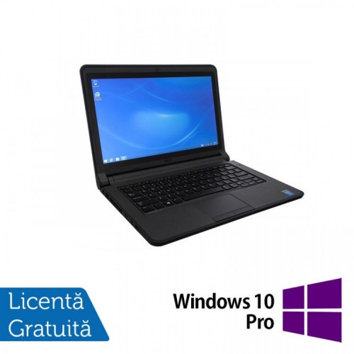 Laptop Refurbished DELL Latitude 3340, Intel Core i3-4005U 1.70GHz, 4GB DDR3, 500GB SATA, 13.3 Inch + Windows 10 Pro