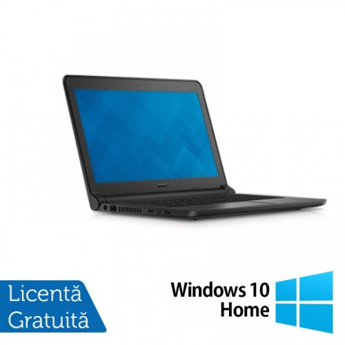 Laptop DELL Latitude 3350, Intel Core i5-5200U 2.20GHz, 4GB DDR3, 120GB SSD, Wireless, Bluetooth, Webcam, 13.3 Inch + Windows 10 Home, Refurbished